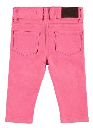 Civil Baby Kız Bebek Keten Pantolon  Fuşya